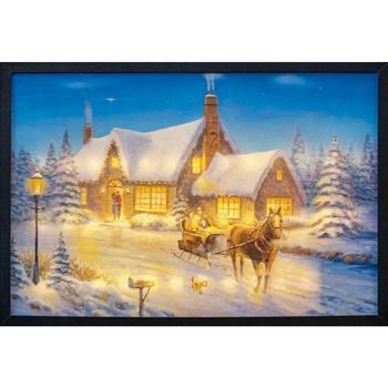 Casa Decorações festivas Christmas Shop RW5112 Multicor