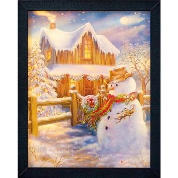 Casa Decorações festivas Christmas Shop RW5113 Multicor