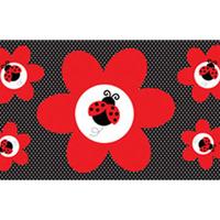 Casa Stickers Creative Converting Taille unique Vermelho/preto