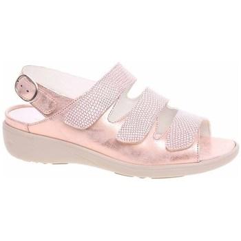 Sapatos Mulher Sandálias Waldläufer 684002200139 Dourado, Cor bege