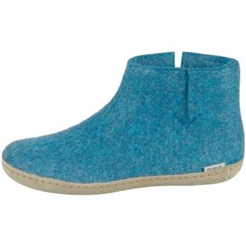 Sapatos Mulher Botas baixas Glerups DK Petrol Lammwollfilz Cor azul-turquesa
