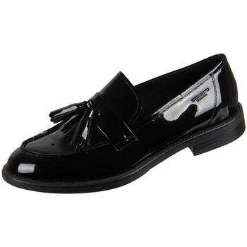 Sapatos Mulher Mocassins Vagabond Shoemakers Amina Black Lack Preto