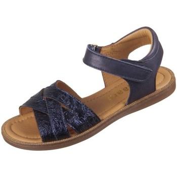 Sapatos Criança Sandálias Bisgaard 702931211426 Azul marinho