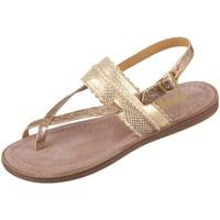 Sapatos Rapariga Sandálias Bisgaard 719321211128 Dourado