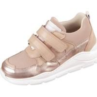 Sapatos Criança Sapatilhas Bisgaard 407291211637 Dourado, Cor bege