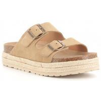 Sapatos Rapariga Chinelos Obi Shoes 3052 Beige