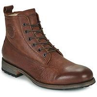 Sapatos Homem Botas baixas Blackstone MID LACE UP BOOT FUR Castanho