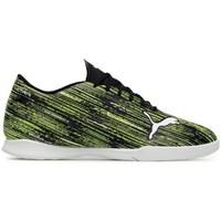 Sapatos Criança Chuteiras Puma Ultra 42 IT JR Preto, Verde claro
