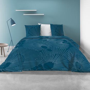 Casa Conjunto de roupa de cama Atelier du Linge BAYOU Azul