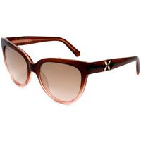 Relógios & jóias Mulher óculos de sol Swarovski - SK0187 Castanho