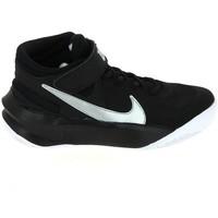 Sapatos Criança Sapatilhas de basquetebol Nike Team Hustle D 10 Flyease Jr Noir Blanc DD7303-004 Preto