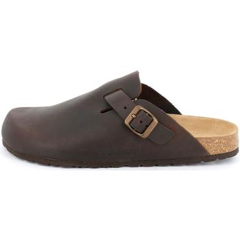 Sapatos Homem Tamancos Grunland - Sabot mogano CB7034 MARRONE