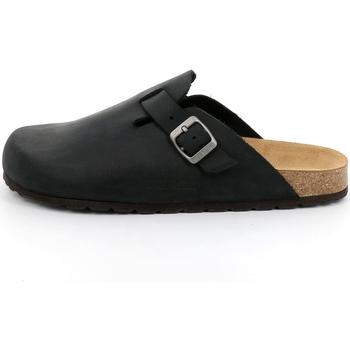 Sapatos Homem Tamancos Grunland - Sabot nero CB7034 MARRONE