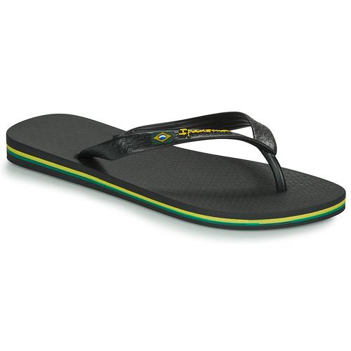 Sapatos Homem Chinelos Ipanema CLASSICA BRASIL II Preto