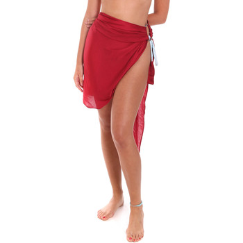 Textil Mulher Pareo Me Fui M20-0052RS Vermelho