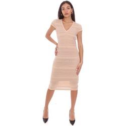 Textil Mulher Vestidos curtos Gaudi 111BD13004 Rosa