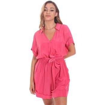 Textil Mulher Macacões/ Jardineiras Gaudi 111BD25041 Rosa