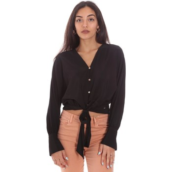 Textil Mulher camisas Gaudi 111BD45031 Preto