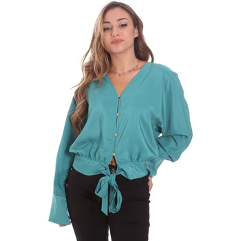Textil Mulher camisas Gaudi 111BD45031 Verde