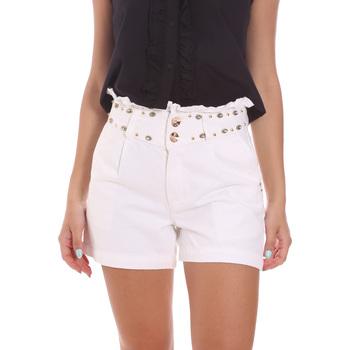 Textil Mulher Shorts / Bermudas Gaudi 111BD26022 Branco