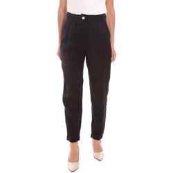 Textil Mulher Calças Gaudi 111BD25010 Preto