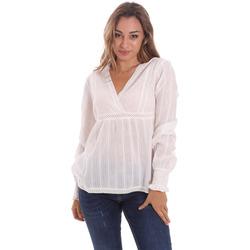 Textil Mulher Tops / Blusas Gaudi 111BD45024 Branco