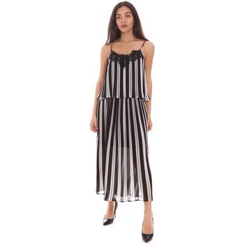 Textil Mulher Vestidos compridos Gaudi 111BD15007 Preto