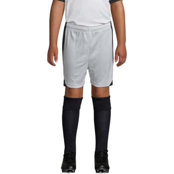 Textil Rapaz Shorts / Bermudas Sols OLIMPICO KIDS pantalón corto Blanco