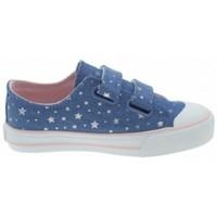 Sapatos Rapariga Sapatilhas MTNG ZAPATILLAS VELCRO NIÑA MUSTANG 47289 Azul