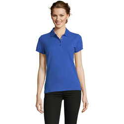 Textil Mulher Polos mangas curta Sols PEOPLE POLO MUJER Azul