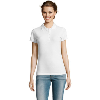 Textil Mulher Polos mangas curta Sols PEOPLE POLO MUJER Blanco
