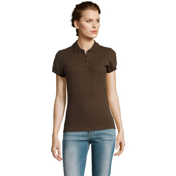 Textil Mulher Polos mangas curta Sols PEOPLE POLO MUJER Violeta