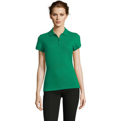 Textil Mulher Polos mangas curta Sols PEOPLE POLO MUJER Verde