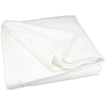 Casa Toalha de praia A&r Towels 100 cm x 190 cm RW6043 Branco