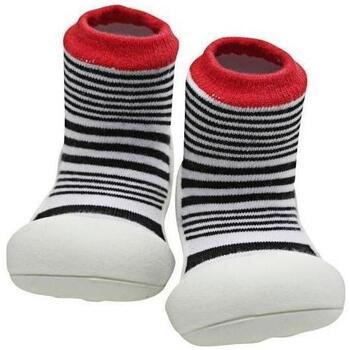 Sapatos Criança Pantufas bebé Attipas Urban Red Preto