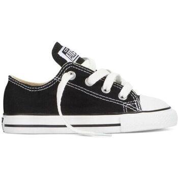 Sapatos Criança Sapatilhas Converse Sapatilhas Bebé CT All Star OX Black 7J235C Preto