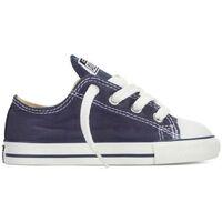 Sapatos Criança Sapatilhas Converse Sapatilhas Bebé CT All Star OX Navy 7J237C Azul