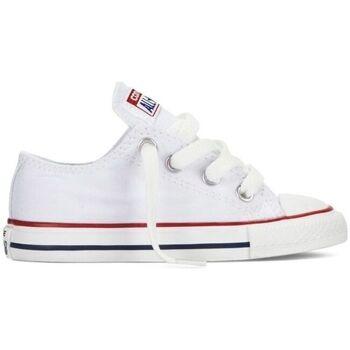 Sapatos Criança Sapatilhas Converse Sapatilhas Bebé CT All Star OX Optical White 7J256C Branco