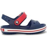 Sapatos Rapaz Sandálias Crocs Sandálias Criança Crocband II Navy Red Azul