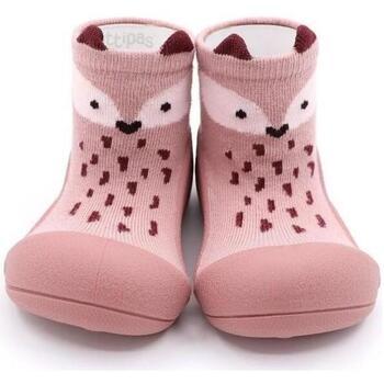 Sapatos Rapariga Pantufas bebé Attipas Endangered Animal Raposa Rosa