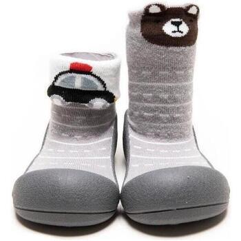 Sapatos Criança Pantufas bebé Attipas Two Style Gray Cinza