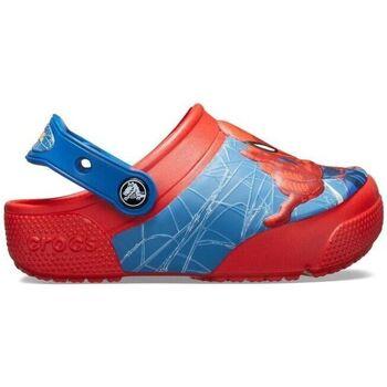 Sapatos Criança Tamancos Crocs Sandálias Bebé Funlab Spiderman Flame Vermelho