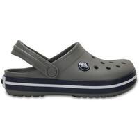 Sapatos Criança Tamancos Crocs Sandálias Criança Crocband Smoke Navy Cinza