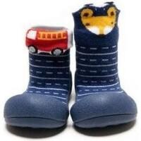Sapatos Rapaz Pantufas bebé Attipas Two Style Navy Azul
