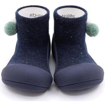Sapatos Rapaz Pantufas bebé Attipas Shooting Star Navy Azul