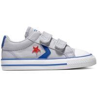 Sapatos Criança Sapatilhas Converse Sapatilhas Bebé Star Player 2V 763529C Cinza