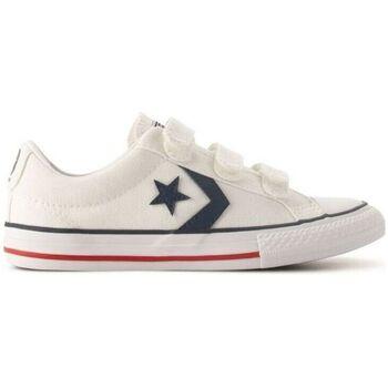 Sapatos Criança Sapatilhas Converse Sapatilhas Criança Star Player White Branco