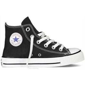 Sapatos Criança Sapatilhas de cano-alto Converse Sapatilhas Bebé CT All Star Hi Black 7J231C Preto
