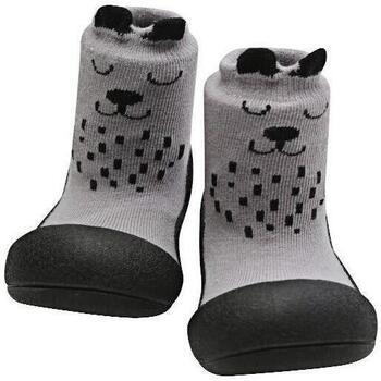 Sapatos Rapariga Pantufas bebé Attipas Cutie Grey Cinza
