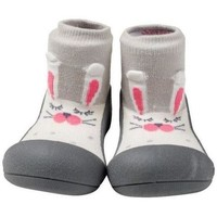Sapatos Criança Pantufas bebé Attipas Pet Gray Cinza